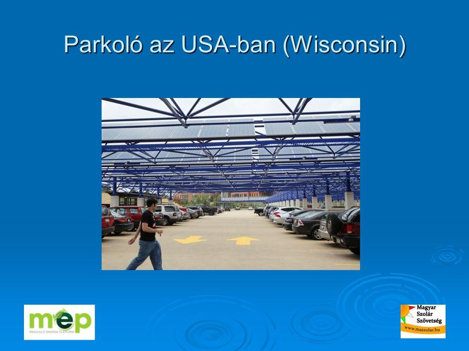 Parkoló az USA-ban (Wisconsin)