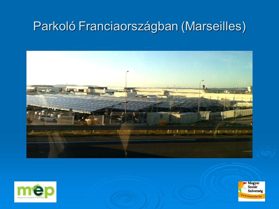 Parkoló Franciaországban (Marseilles)