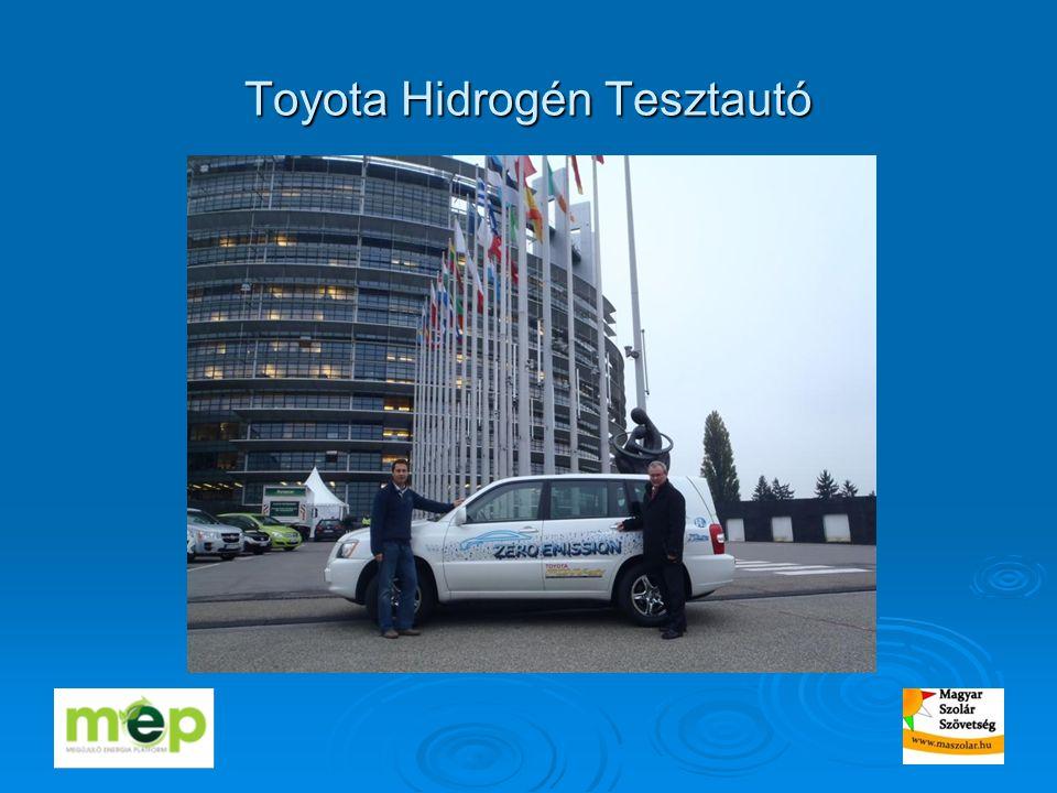 Toyota Hidrogén Tesztautó