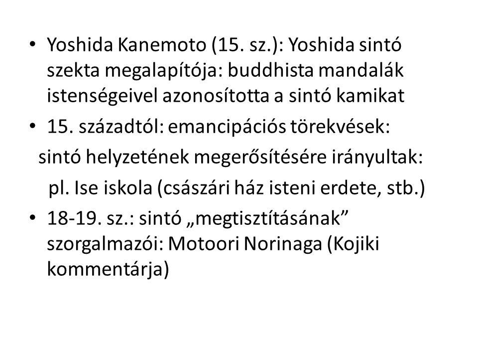 • Yoshida Kanemoto (15.