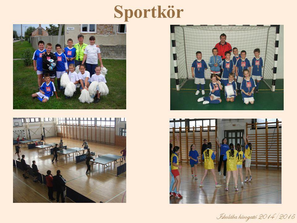 Iskolába hívogató 2014/2015 Sportkör