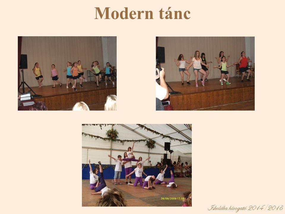 Iskolába hívogató 2014/2015 Modern tánc