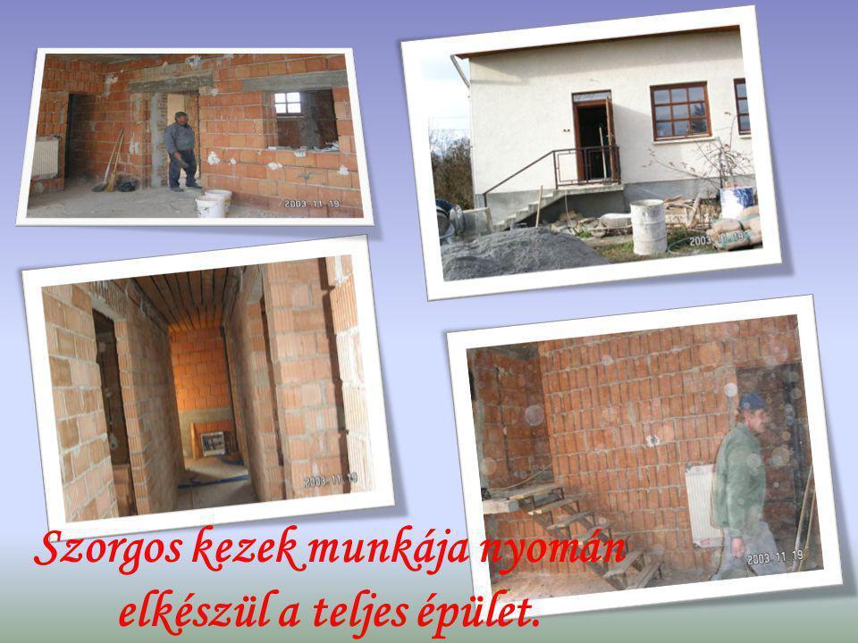A Szent Erzsébet Ház tovább bővítése gondozási központtá.