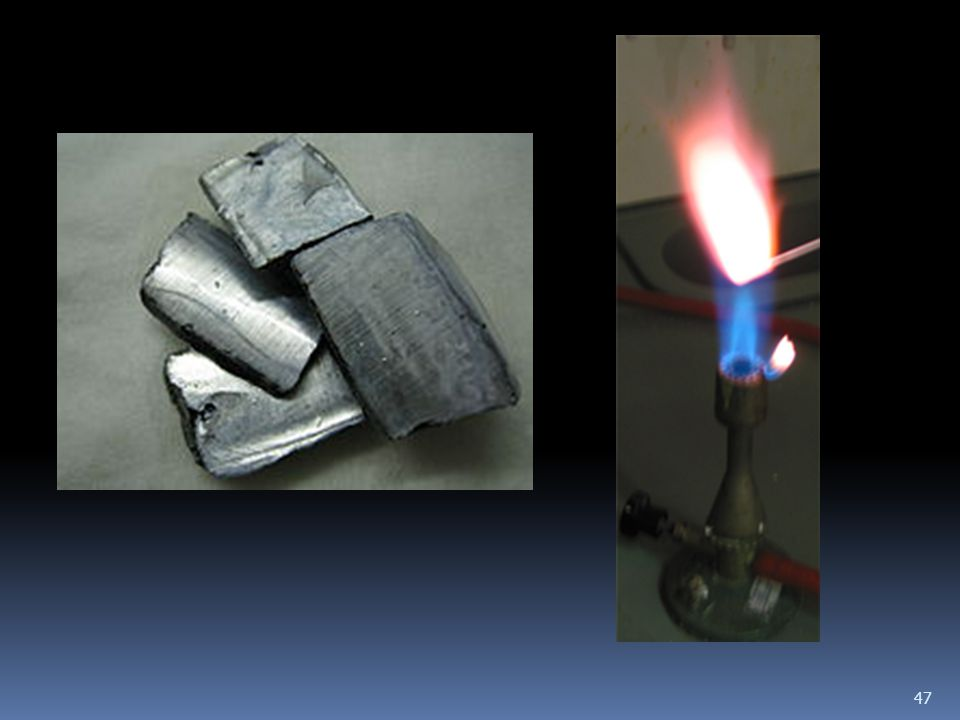 Fontosabb vegyületei 48 Vegyületeiben a kálium oxidációs száma +1.