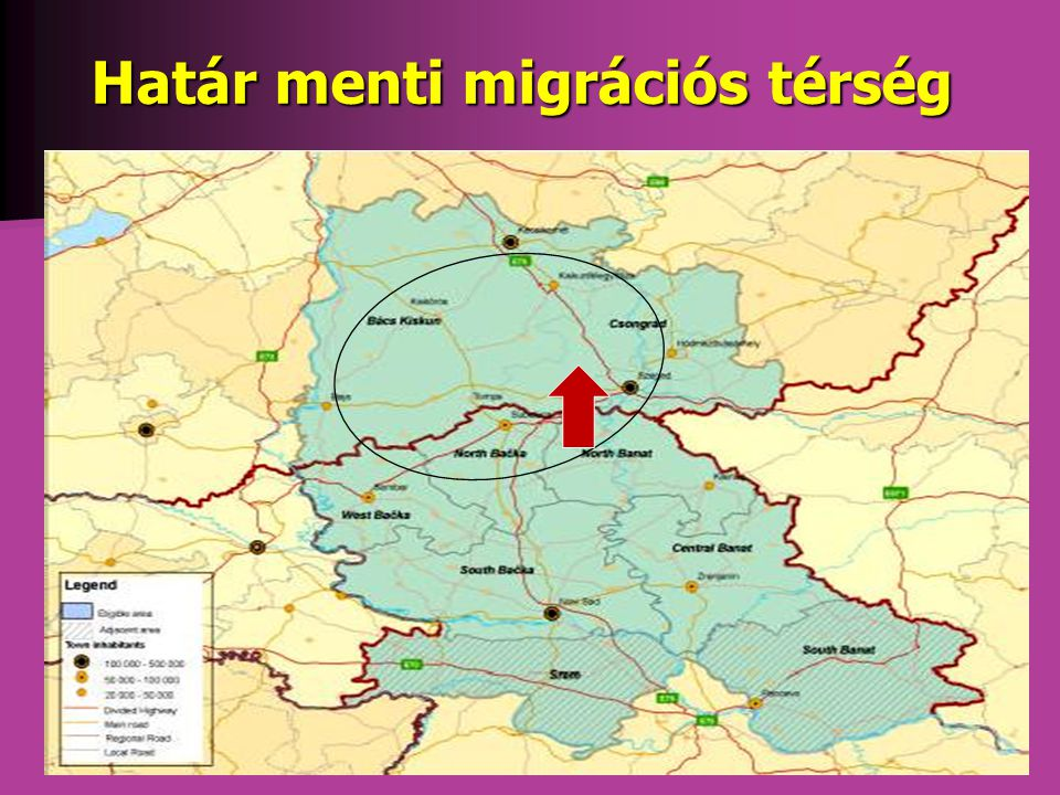 Határ menti migrációs térség