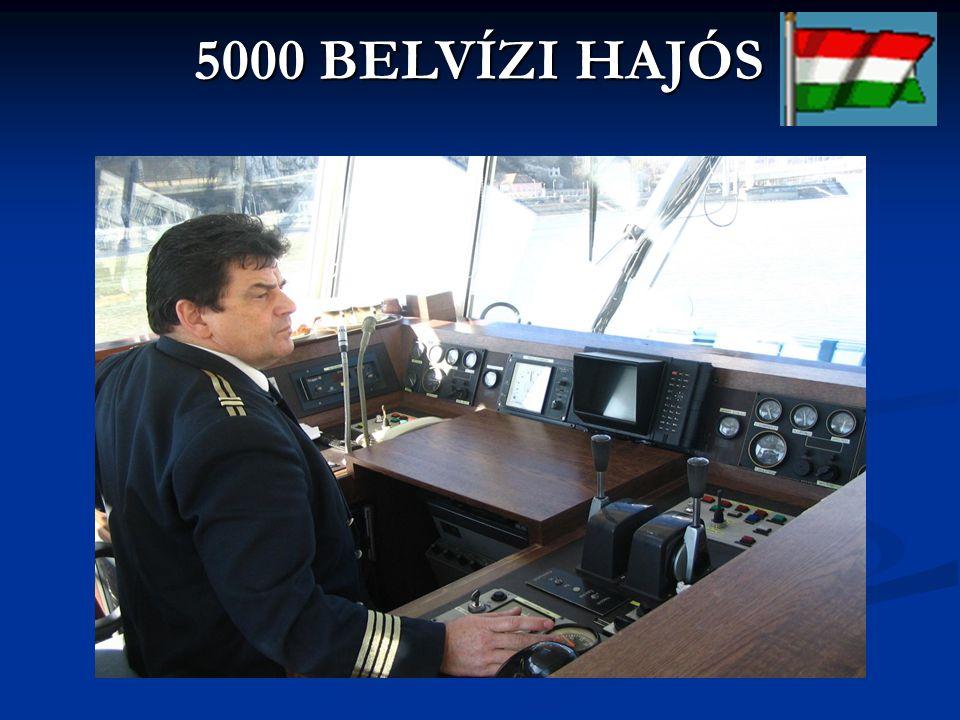 5000 BELVÍZI HAJÓS