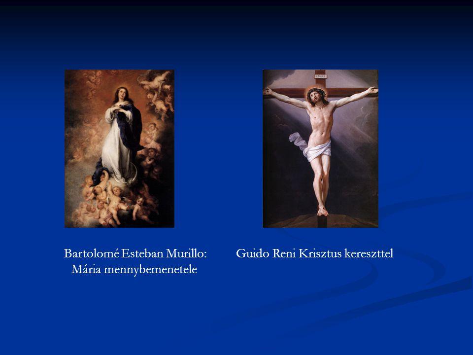 Bartolomé Esteban Murillo: Guido Reni Krisztus kereszttel Mária mennybemenetele