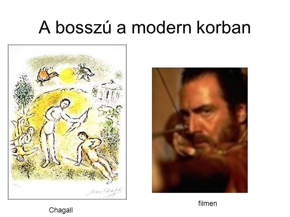 A bosszú a modern korban Chagall filmen