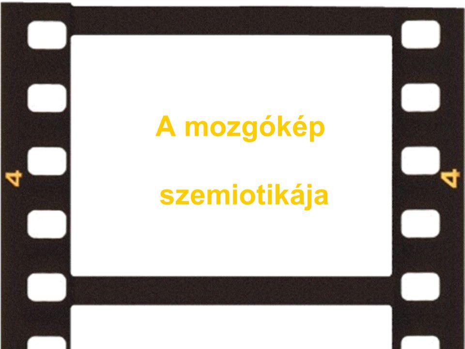 filmi jelek kodifikációs szintjei Pasolini és Metz: - Pasolini szerint a filmben VAN kettös artikuláció.