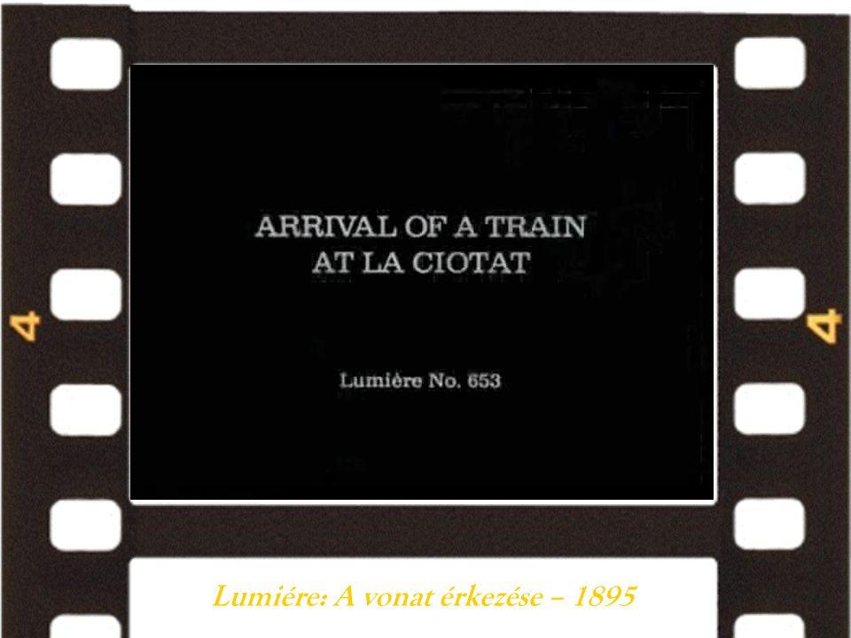 Lumiére: A vonat érkezése – 1895