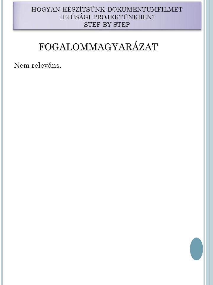 LÉPÉSEK 7.