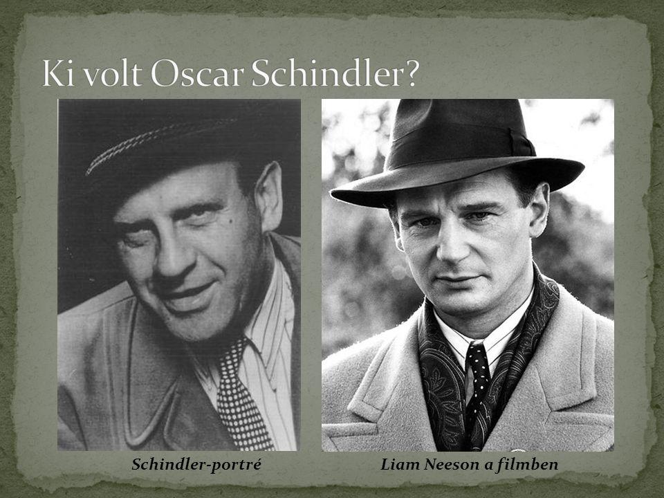 Schindler-portréLiam Neeson a filmben