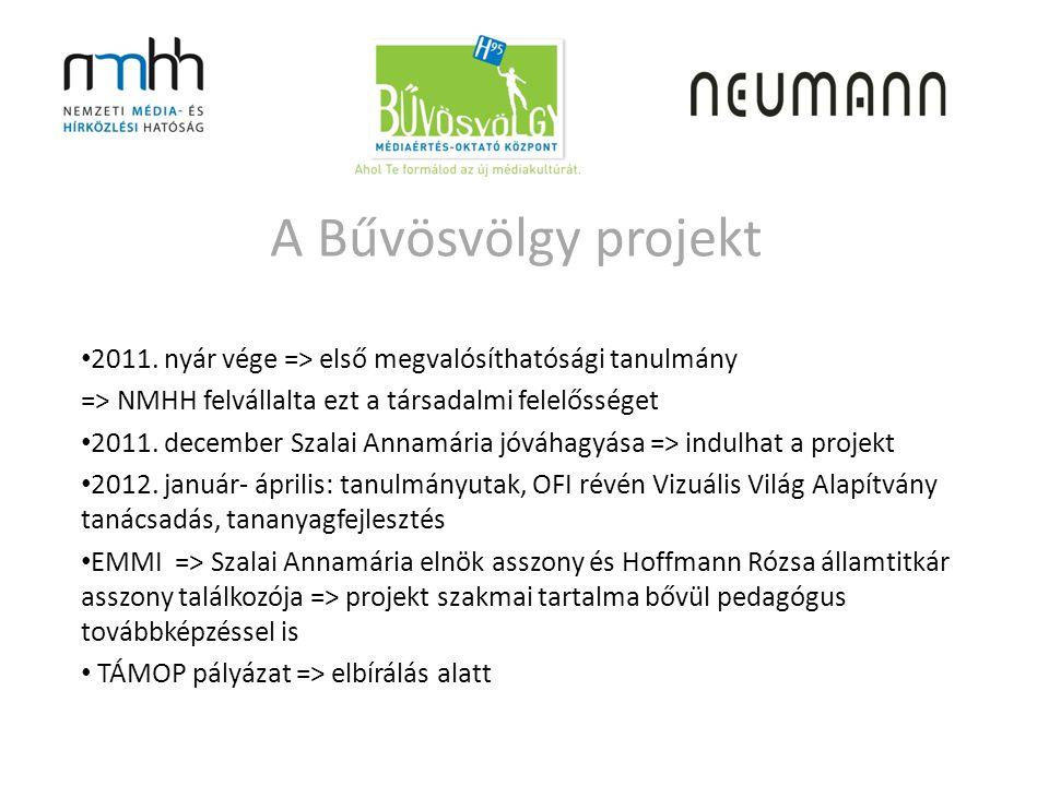 A Bűvösvölgy projekt • 2011.
