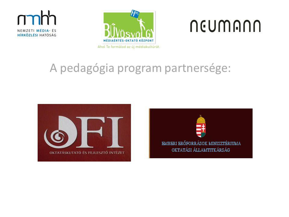 A pedagógia program partnersége:
