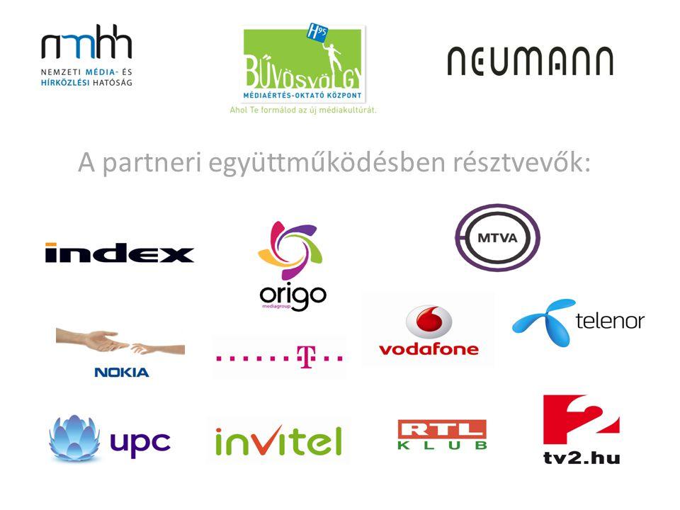 A partneri együttműködésben résztvevők: