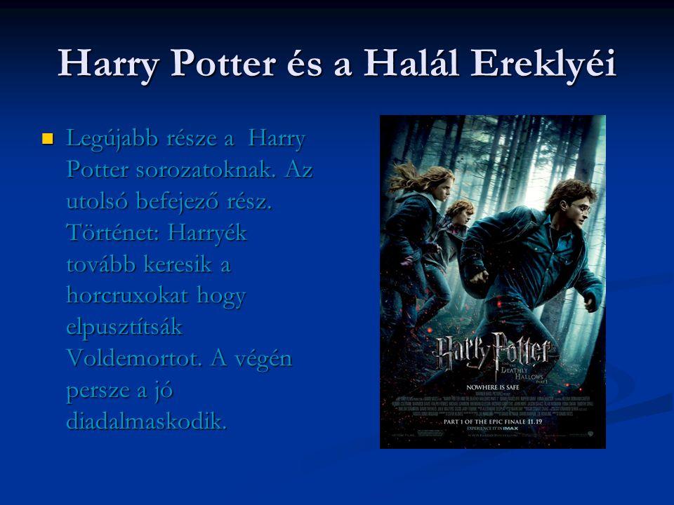 Nem csak mese  A Harry Potter sorozat nem csak mese.