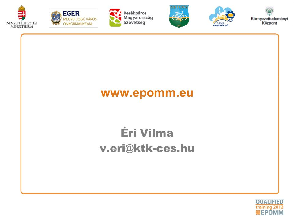 www.epomm.eu Éri Vilma v.eri@ktk-ces.hu