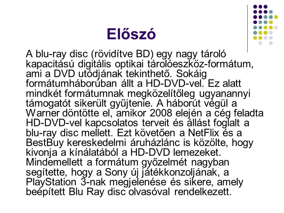 """Egy Blu-Ray lemez felépítése Abban az esetben, ha egy DVD felszíne nem pontosan sík és ezért nem pontoson merőleges rá a fénysugár, akkor arra a problémára vezethet, amint úgy neveznek, hogy """"disc tilt , amiben a lézer sugár eltorzított."""