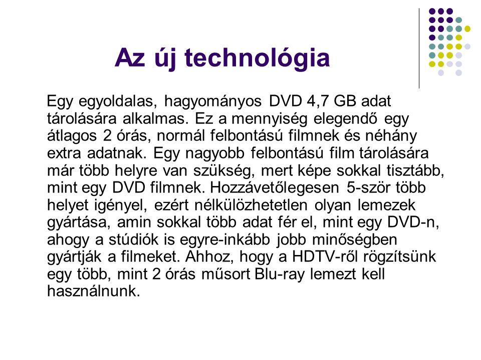 A Blu-ray technológia elterjedése egyelőre várat magára, elsősorban a technológia drágasága miatt.