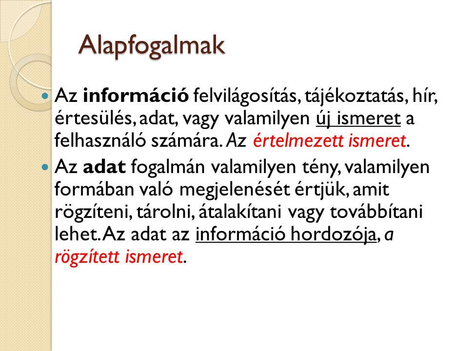 Feladat 7. A következő adattípusok használhatók ◦ Szöveg → tetszőleges, max.