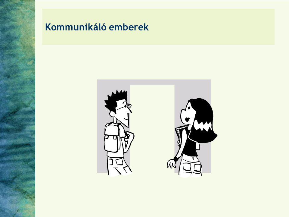 Kommunikáló emberek