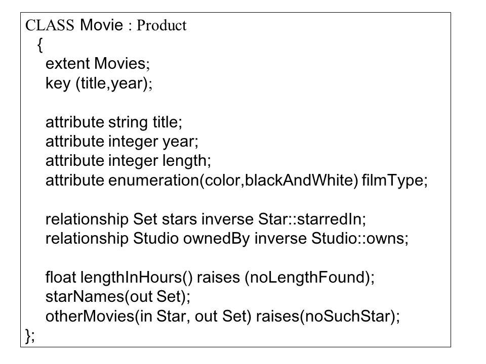 OQL megvalósítás: SELECT atl: AVG(SELECT b.ertek FROM i.beiras b), tsz: i.targy.tanszek FROM indexb i WHERE i.beiratkozas.felev.szak.nev= X AND i.beiratkozas.felev.ev= Y Sok esetben egyszerűbb a kapcsolatok megfogalmazása gyorsabb művelet végrehajtás az implementáció bonyolultabb