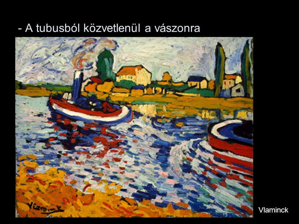 - Megszüntetik a fény-árnyék ellentéteket Matisse