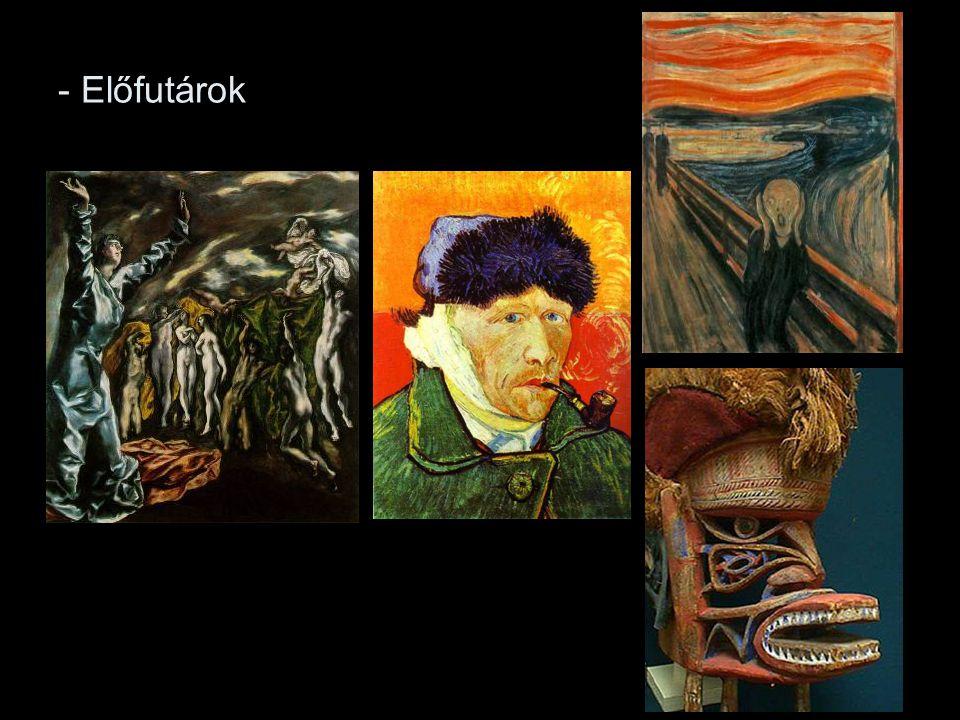 """Két művészcsoport Németországban: Die Brücke (""""A Híd ), Drezda (1905-13), Kirchner Schmidt-Rottluff"""