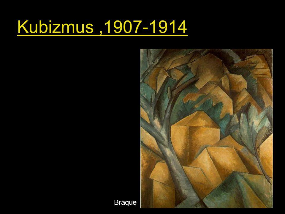 - Előzményei: Cézanne posztimpresszionizmusa, a reneszánsz előtti térszemlélet, a törzsi művészet