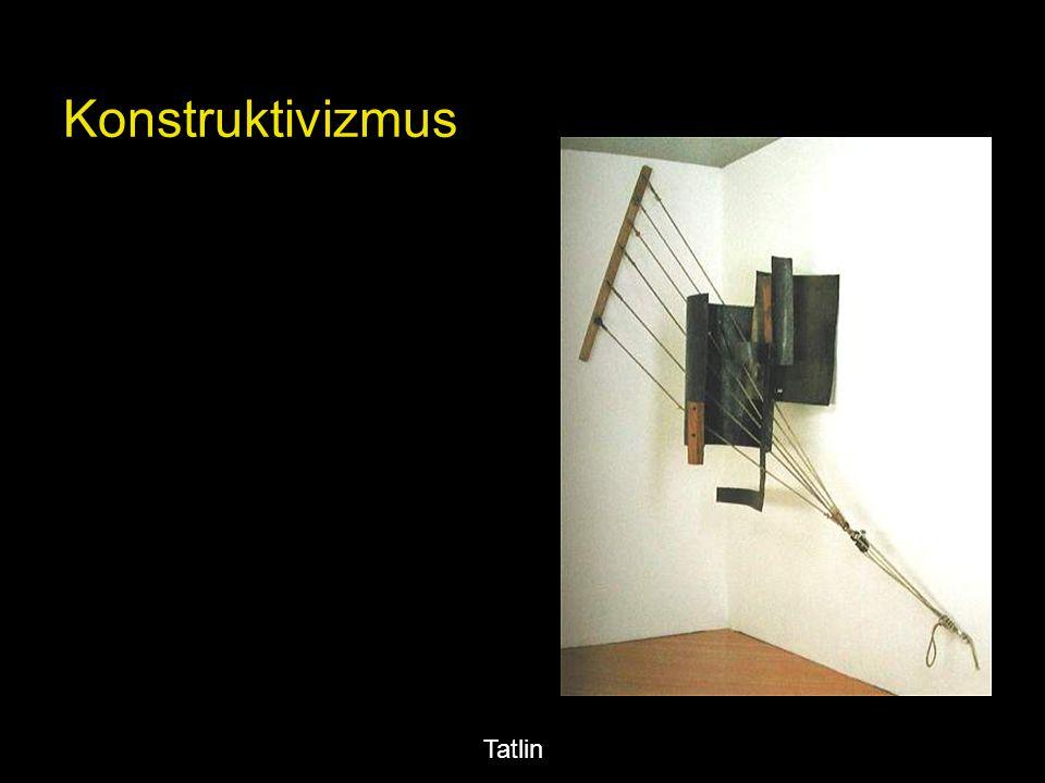 - Vlagyimir Tatlin: A III. Internacionálé emlékmű famodellje, 1920. (elpusztult)