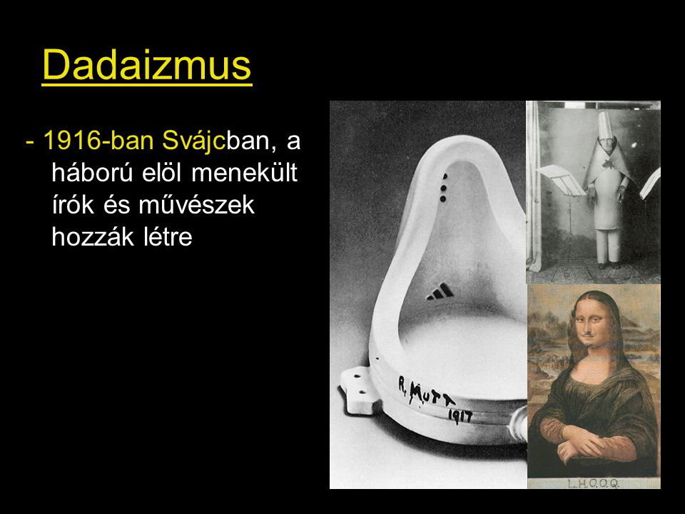"""(Ledönteni a """"Szent Művészetet emelvényéről) Duchamp: L.H.O.O.Q. 1919"""