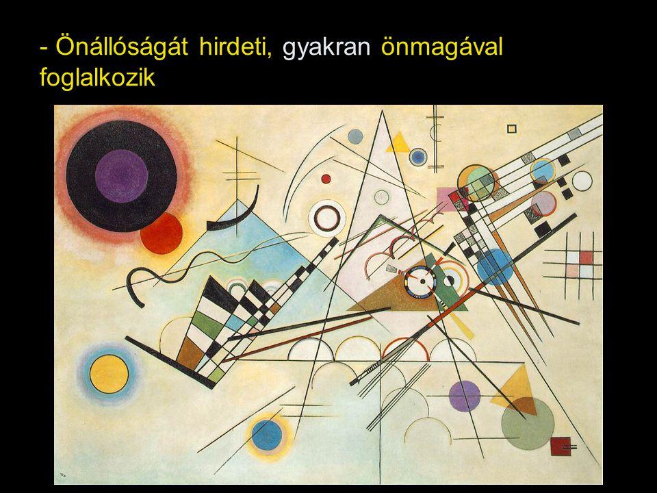 Két nagyobb periódusa: a/ Klasszikus avantgárd – a II.