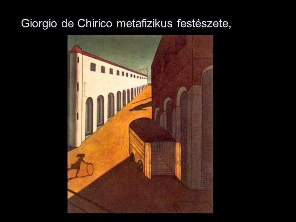 (Giorgio de Chirico: Aggódó múzsák, 1917)