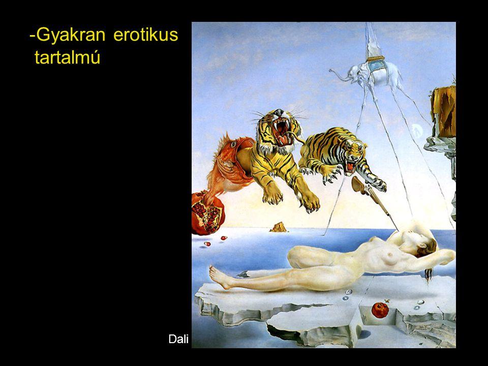 - Szerinte az álom a valóság megragadásának eszköze: az álom logikájára épít alkotásaiban Magritte
