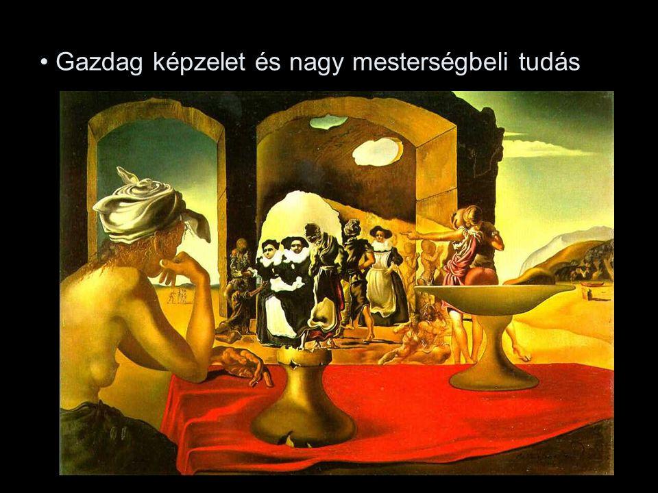 - Salvador Dali: A polgárháború előérzete,1936.
