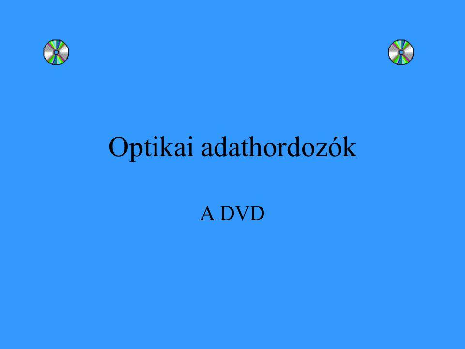 Optikai adathordozók A DVD