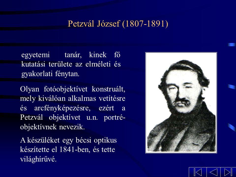 Petőfi Sándor arcképe A fémlemezre történő képrögzítés 1839-ben vált ismertté, s nyomban fényképezkedési láz tört ki világ- szerte, így Magyarországon