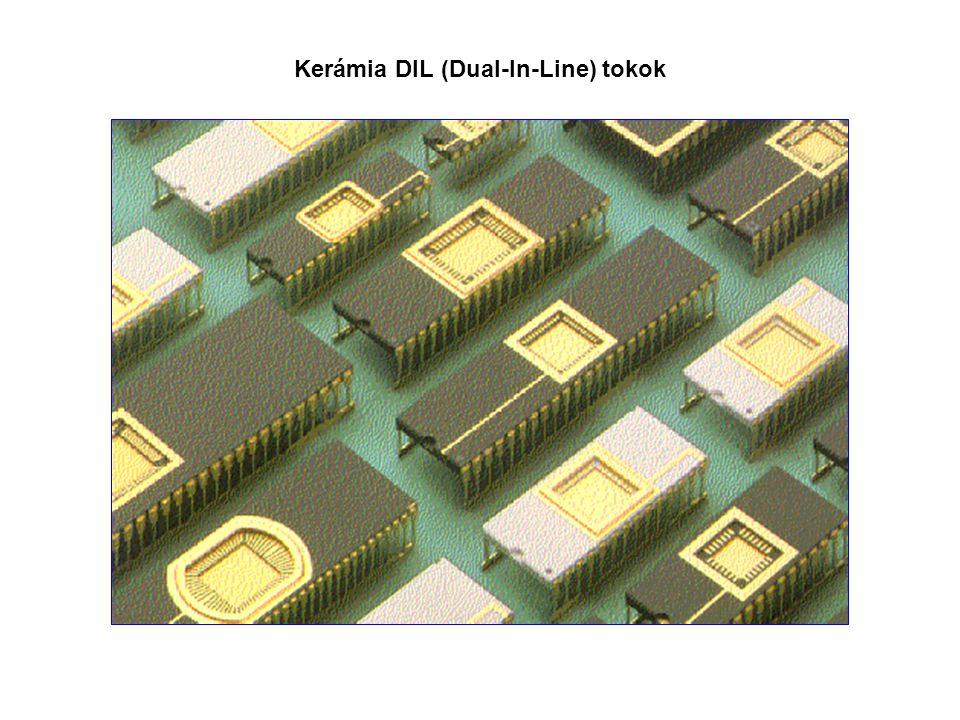 Kerámia DIL (Dual-In-Line) tokok