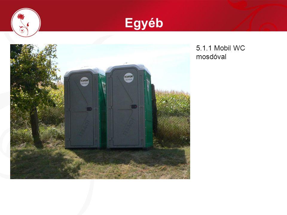 Egyéb 5.1.1 Mobil WC mosdóval