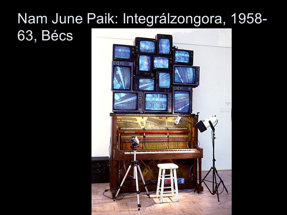 Nam June Paik: Integrálzongora, 1958- 63, Bécs