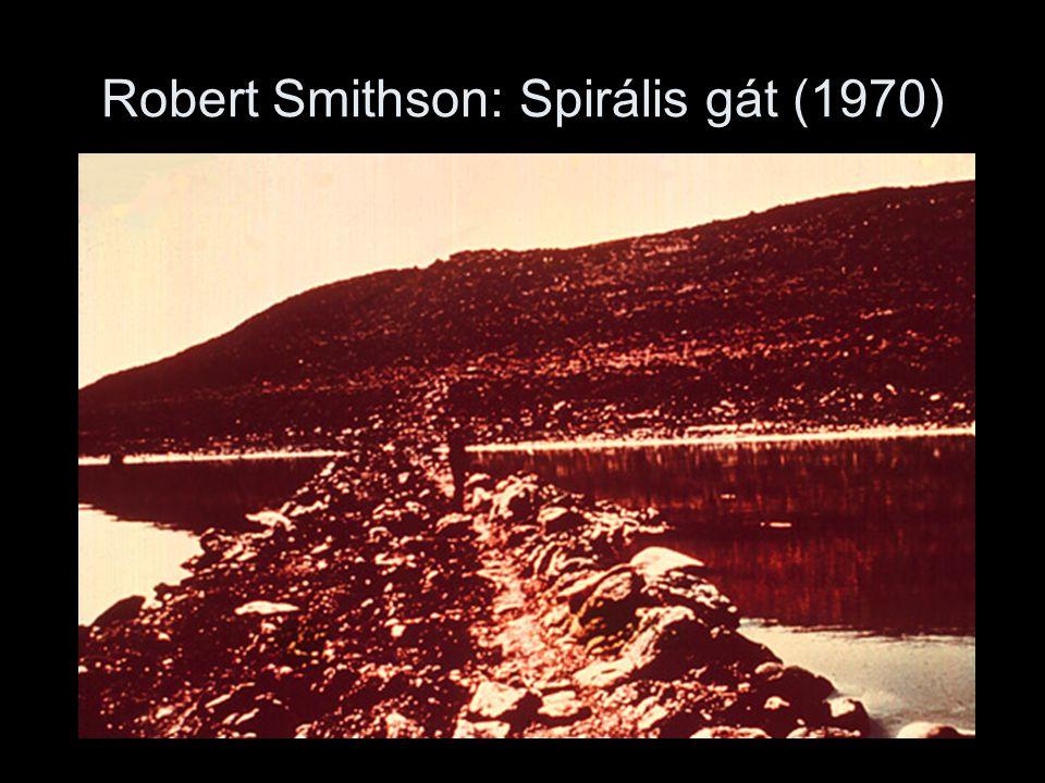 Robert Smithson: Spirális gát (1970)