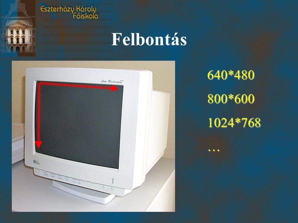 Felbontás 640*480800*6001024*768…
