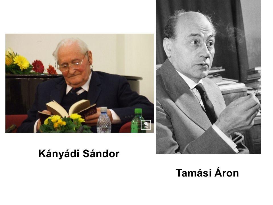 Tamási Áron Kányádi Sándor