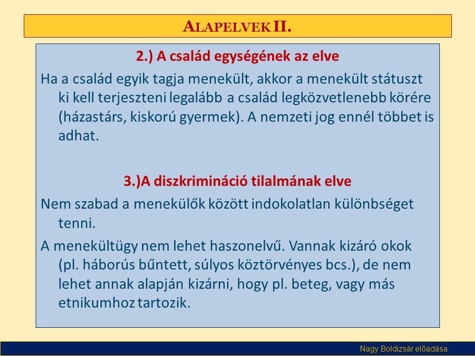 Nagy Boldizsár előadása A LAPELVEK II.