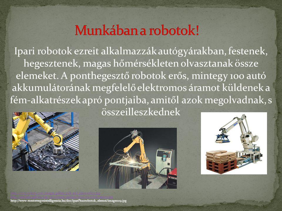 Az 1950-es és 60-as években, ahogy a számítógépek és az elektronika gyorsan fejlődött, valósággá válhatott igazi robotok megépítése. 1956-ban két Amer