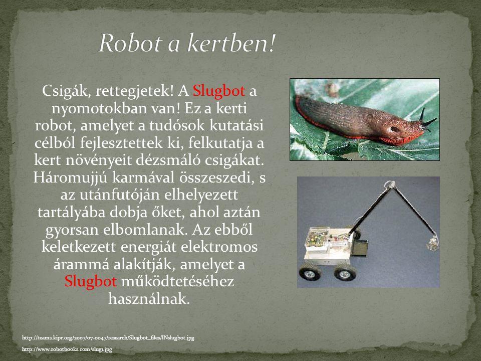Ipari robotok ezreit alkalmazzák autógyárakban, festenek, hegesztenek, magas hőmérsékleten olvasztanak össze elemeket. A ponthegesztő robotok erős, mi