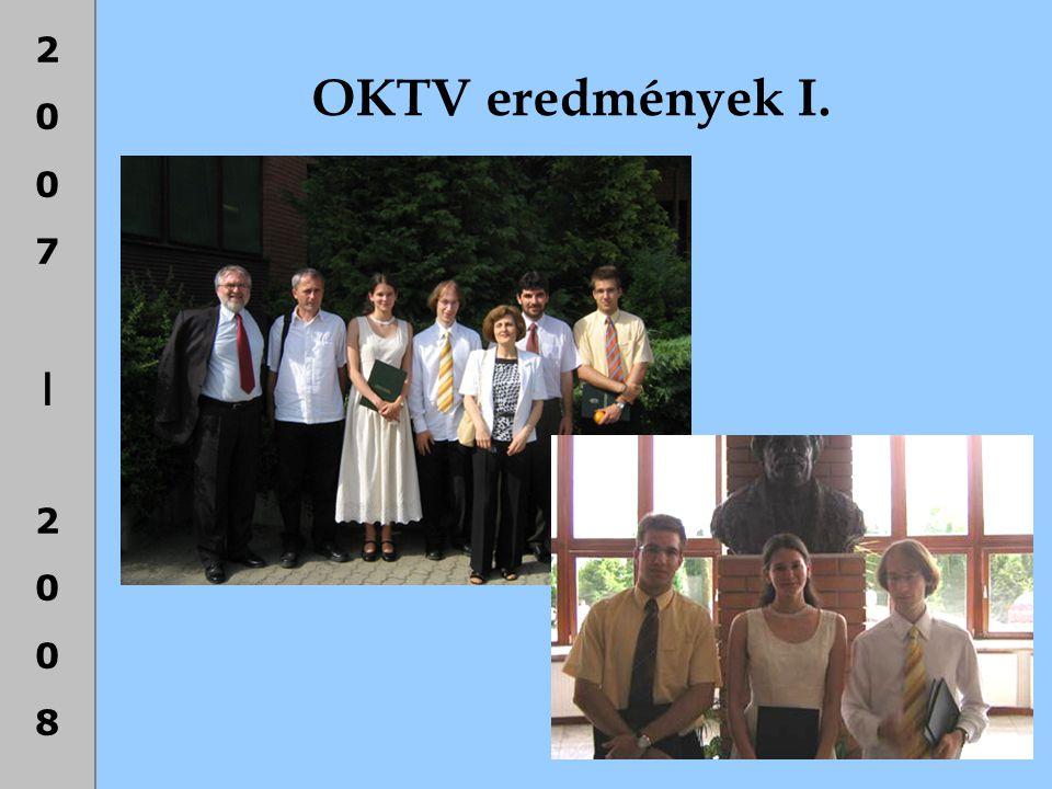 2007|20082007|2008 OKTV eredmények I.