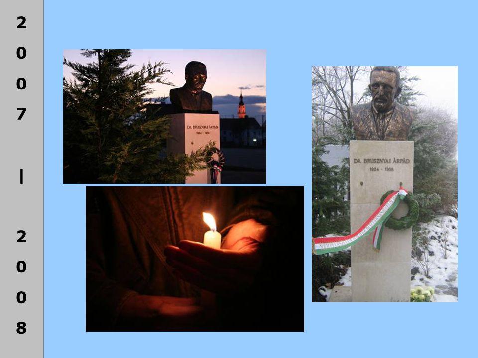2007|20082007|2008 Baum Csaba Alapítvány támogatása a 2008/2009-es tanévre Andó Bálint 12.A Szabó Dorottya 10.B Pázmány József 10.A Stogica Máté 10.A Csicsics Anna 9.A