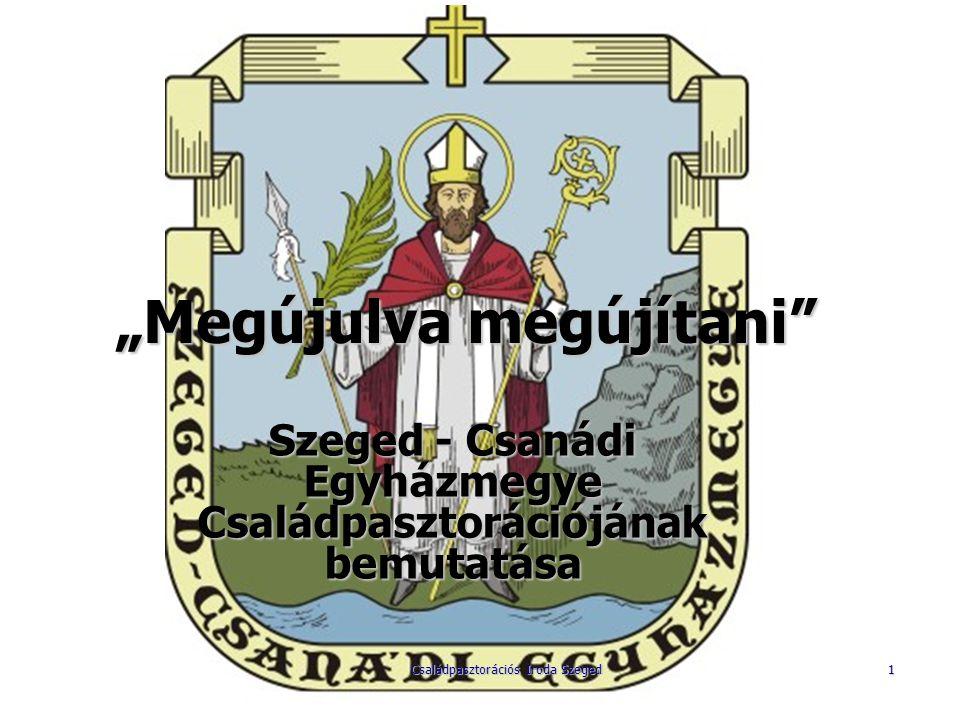 Szeged - Csanádi Egyházmegye Családpasztorációja 22 Egyházmegyei Családfelelős Hétvége