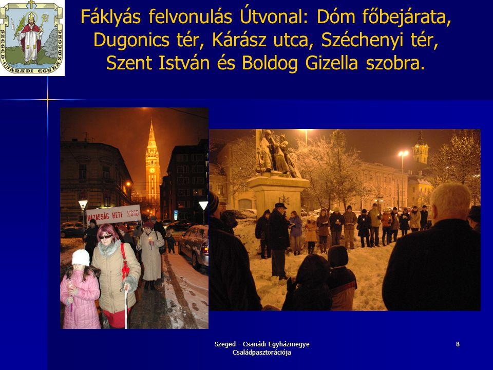 Szeged - Csanádi Egyházmegye Családpasztorációja 9 Február 08.